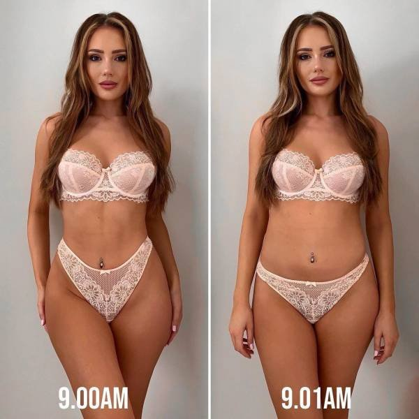 British Model Shows The Difference Between Instagram And Real Photos (24 pics)