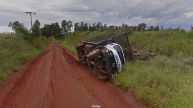 'Google Street View' Photos (47 pics)