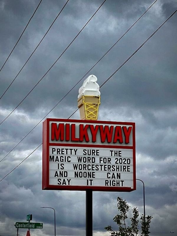 Ice Cream Shop Clever Signs (19 pics)
