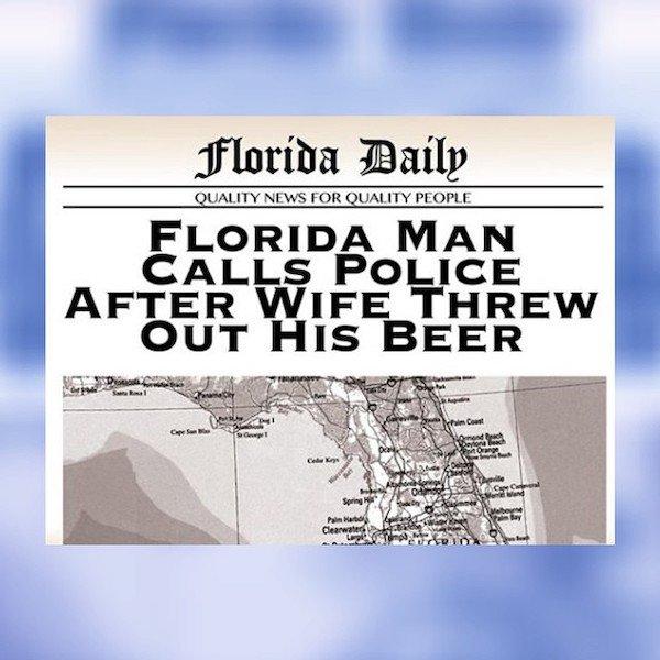 Insane Florida Headlines (28 pics)