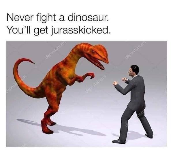 Dinosaur Memes (23 pics)