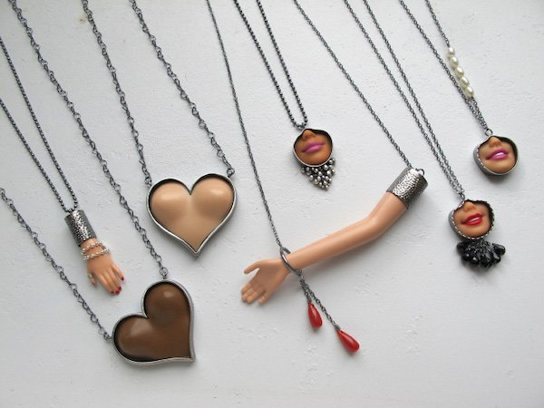 Barbie Parts Jewelry (28 pics)