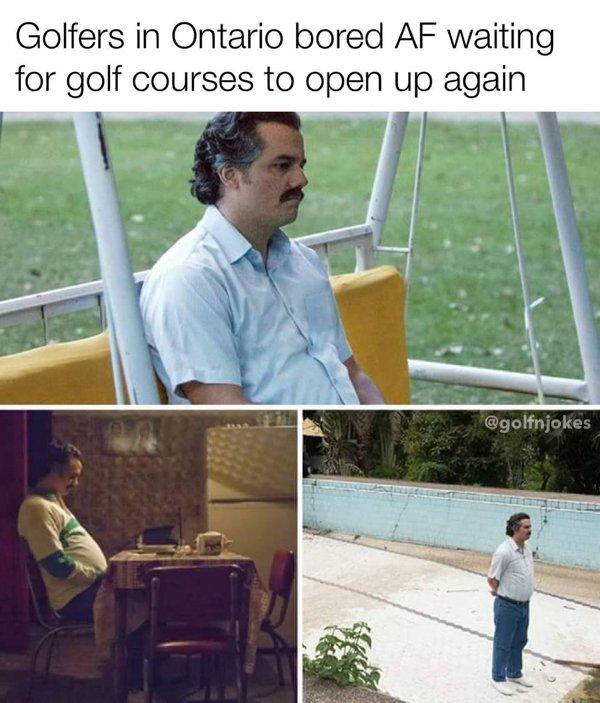 Golf Memes (34 pics)