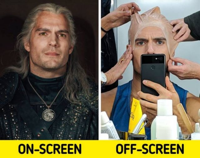 Behind The Scenes Of Popular Movies (17 pics)