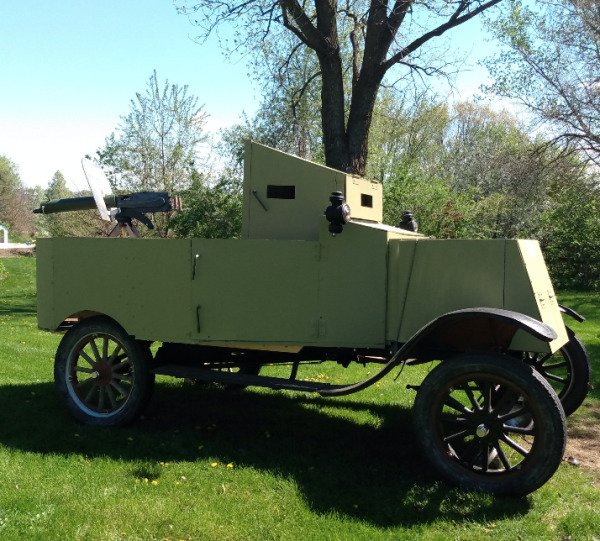 From Nothing To A WW1 Armored Vehicle (27 pics)