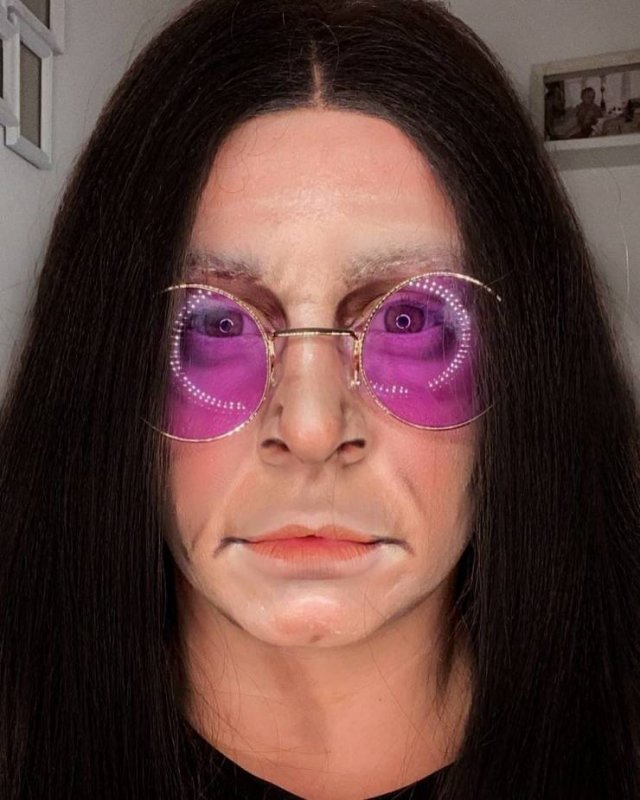 British Makeup Artist Can Turn Herself Into Any Celebrity (23 pics)