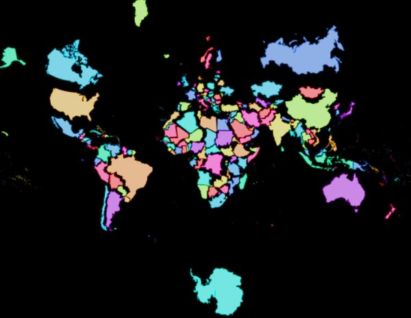 Interesting Maps (28 pics)