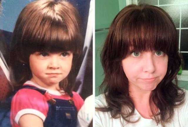 Child Photos People Would Like To Forget (20 pics)