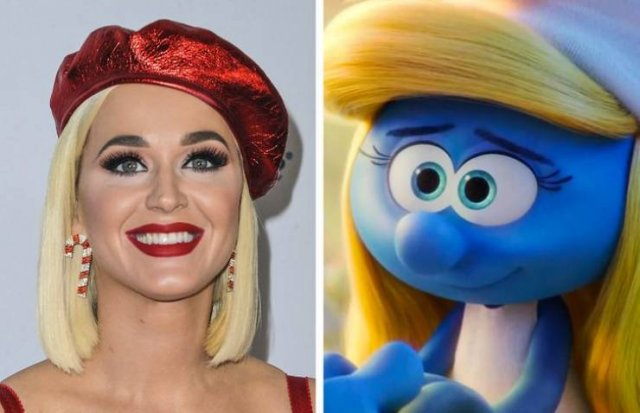 Celebrity Cartoon Voices (20 pics)