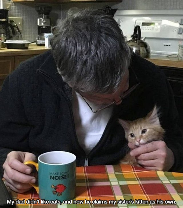 These People Refused To Have Pets (17 pics)