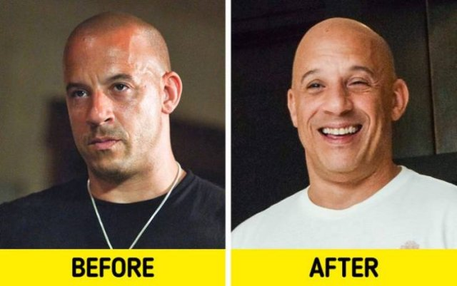 Action Movies Actors: Then And Now (12 pics)