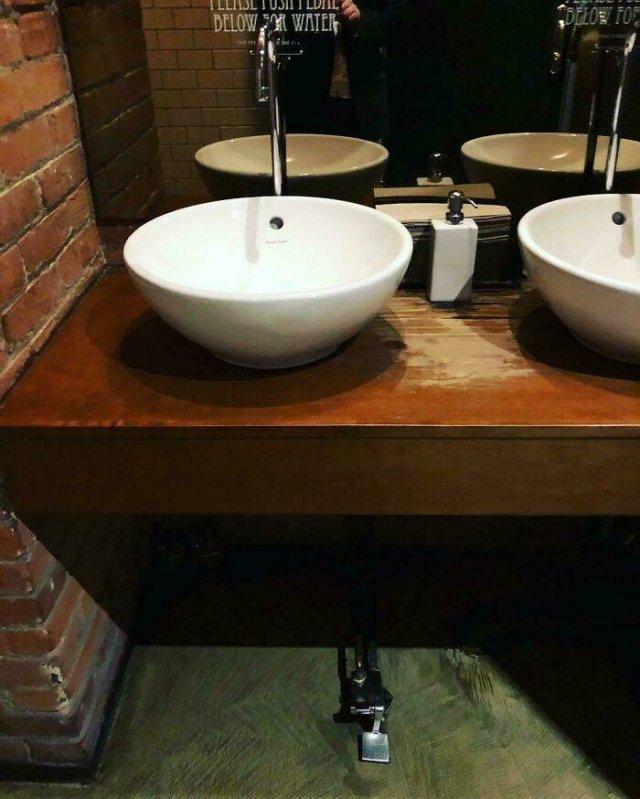 Public Restroom Smart Solutions (50 pics)