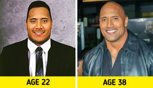 Celebrity Photos: Then And Now (17 pics)