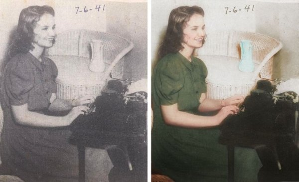 Old Photos In Color (25 pics)