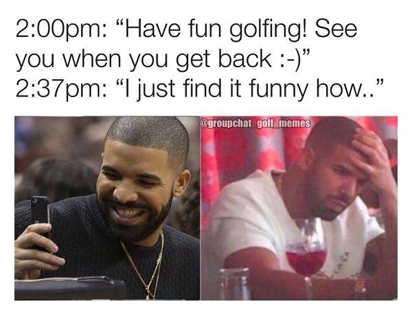 Golf Memes (24 pics)
