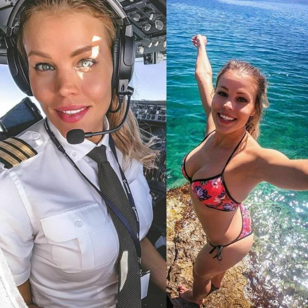 Girls In Uniforms And Without Them (68 pics)