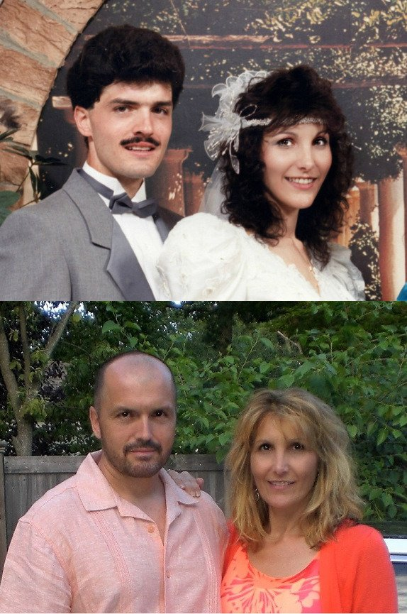People Recreate Their Old Photos (25 pics)