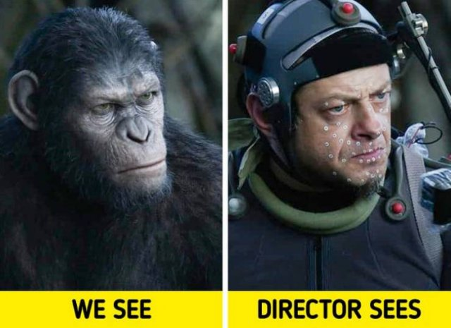 Behind The Scenes Of Popular Movies (21 pics)