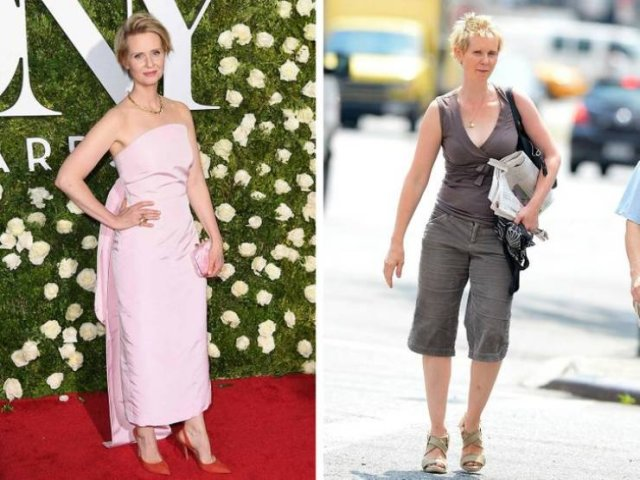 Celebrities Dress For The Red Carpet And For Everyday Life (15 pics)