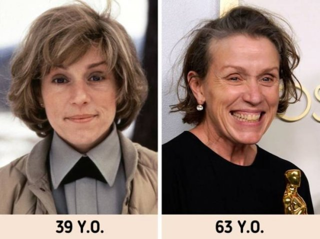 Celebrity Photos: In Their Youth And Now (19 pics)