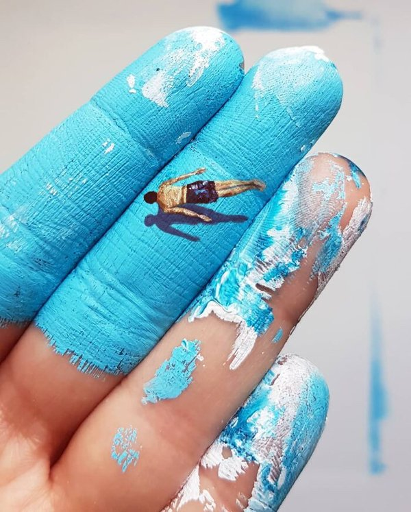 Art Painted On Hands (38 pics)