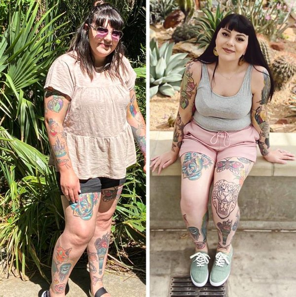 People Show Off Their Transformations (20 pics)