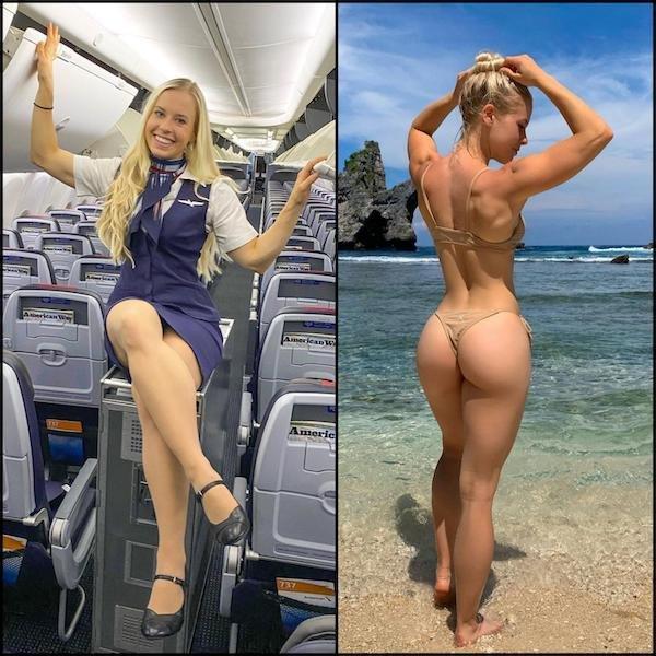 Hot Flight Attendants (20 pics)