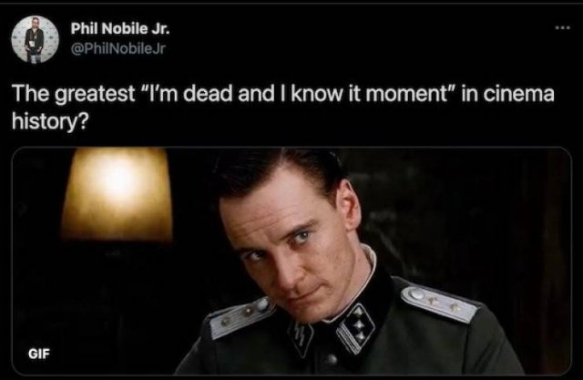 The Best 'I Know I'm Dead' Moments In Movies (30 pics)