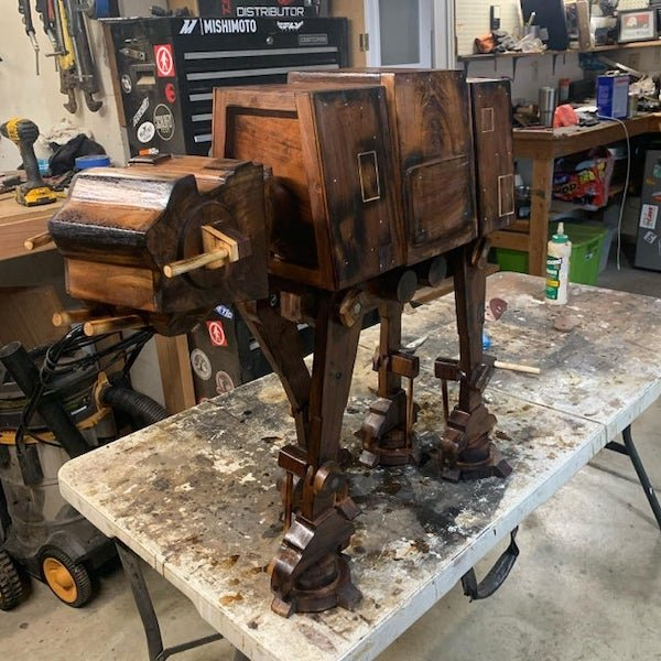 Woodworking Masterpieces (33 pics)