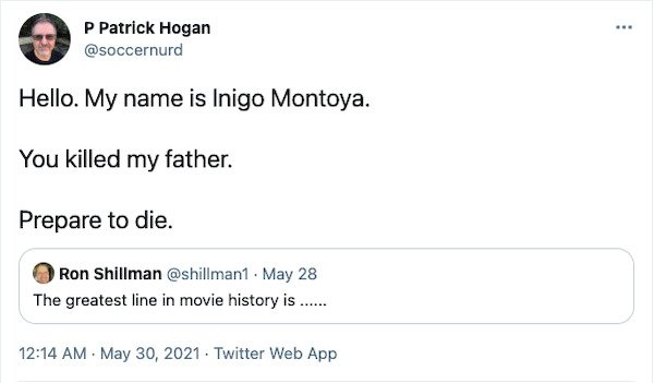 The Greatest Movie Quotes (30 pics)
