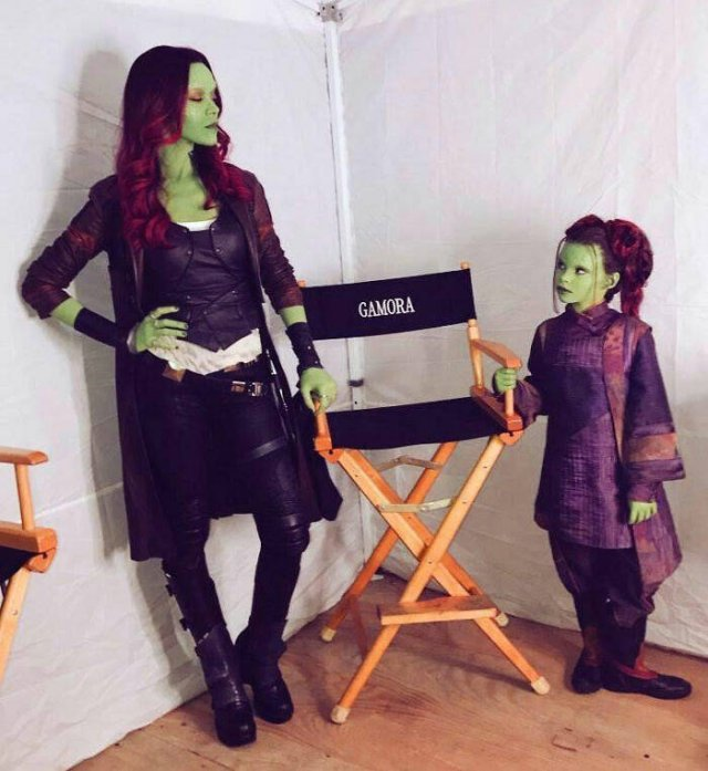 'Marvel' Movies Production (26 pics)