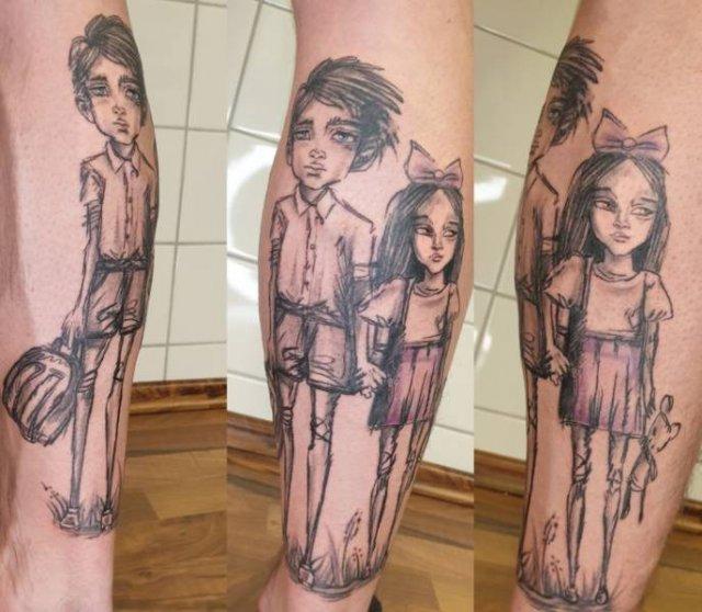 Every Tattoo Has A Story (19 pics)