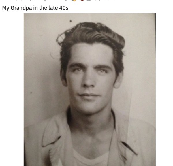 Children Show The Great Old Photos Of Their Parents (30 pics)