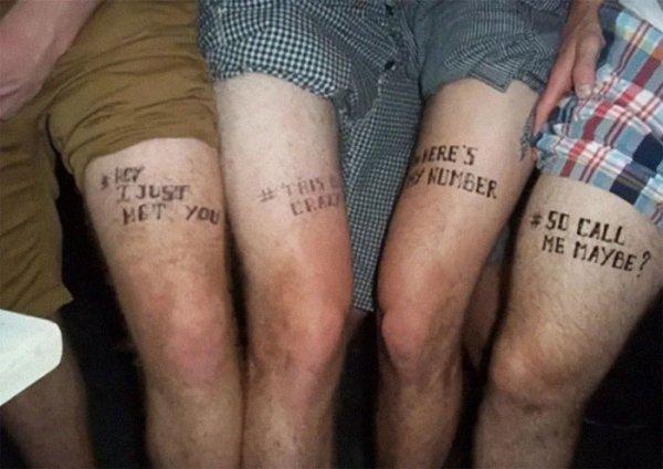 Memes Tattoos (27 pics)