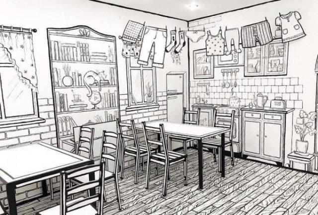 Comic Book Café (25 pics)