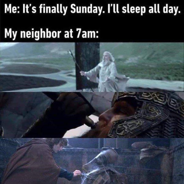 LOTR Memes (31 pics)