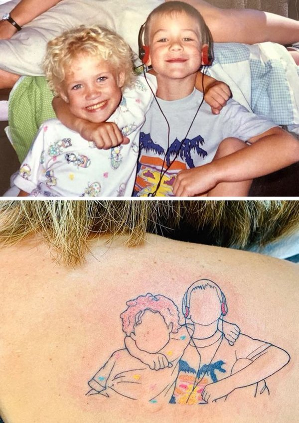 Every Tattoo Has A Story Behind (20 pics)