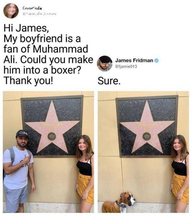 Hilarious Photoshop By James Fridman (18 pics)