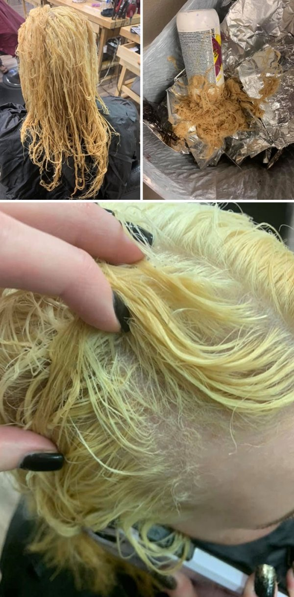 When Hair Dyeing Went Wrong (31 pics)