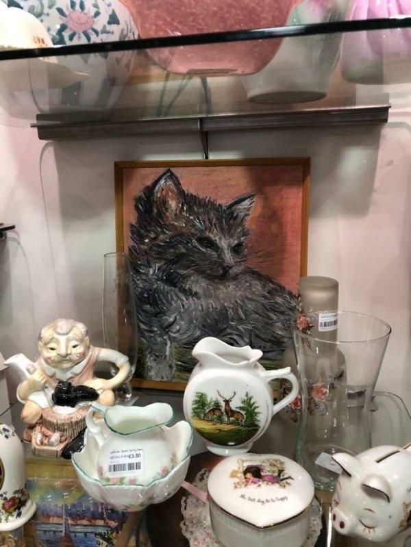 Thrift Store Art (31 pics)