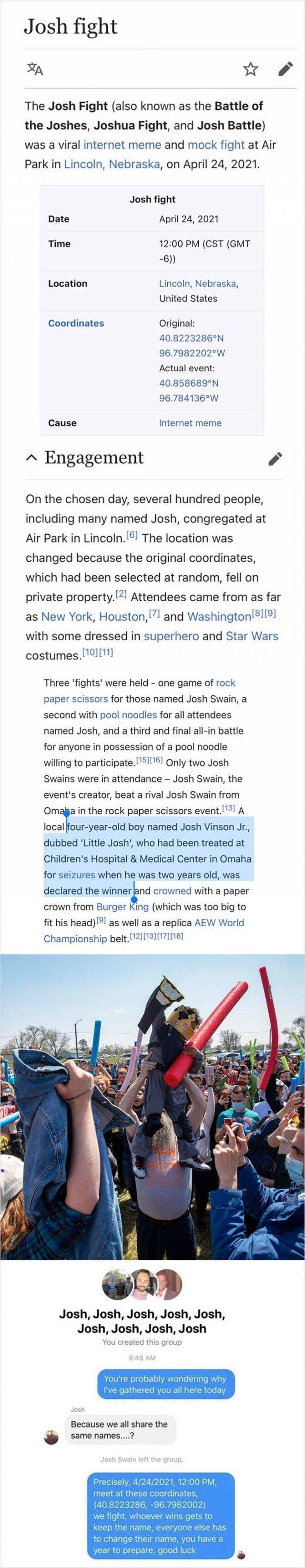 Weird 'Wikipedia' Articles (27 pics)