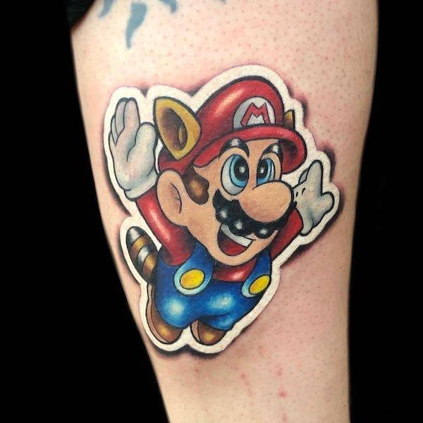 Sticker Tattoos (34 pics)