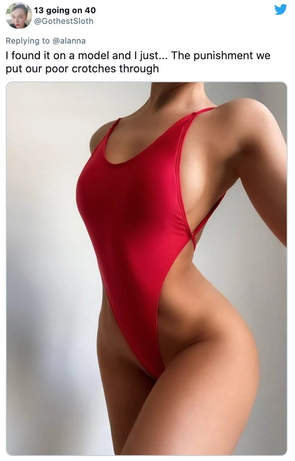 Internet Reacts To The Weird Swimsuit (25 pics)