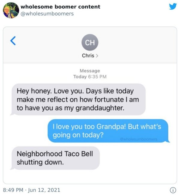 Wholesome Boomers (30 pics)