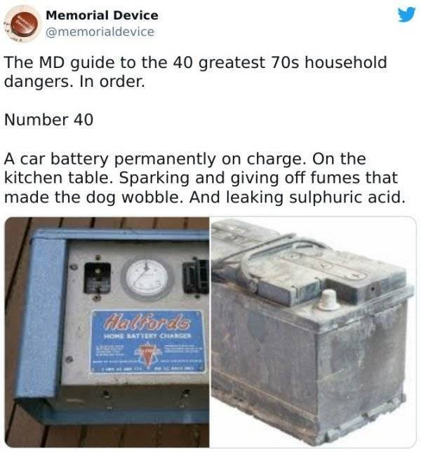 The Most Dangerous Household Stuff From The 70's (37 pics)