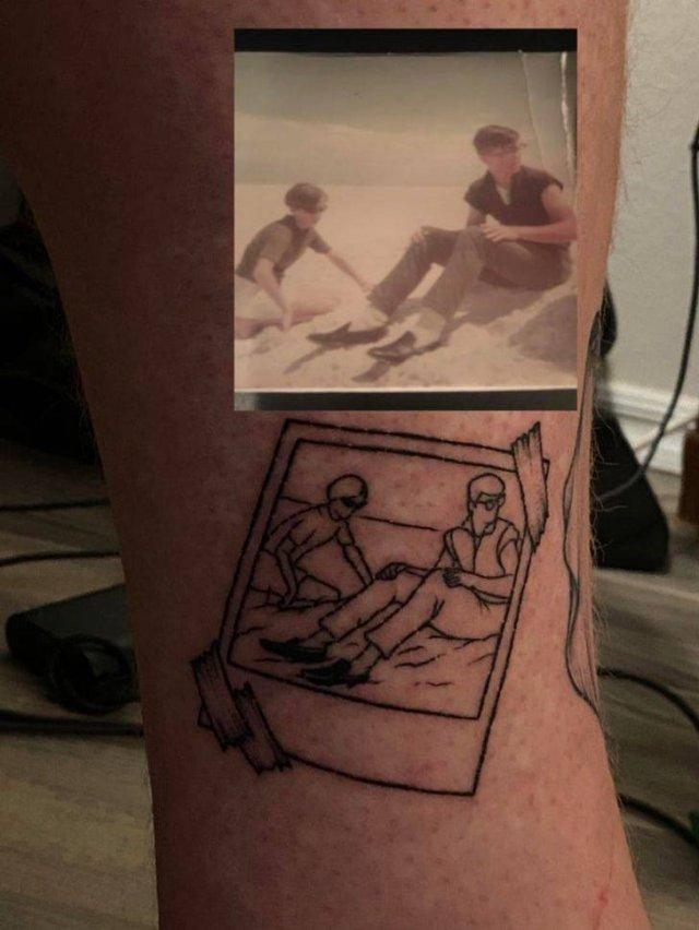 Every Tattoo Has A Story (21 pics)