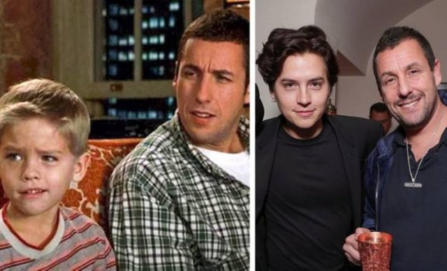 TV Show And Movie Characters: Then And Now (17 pics)