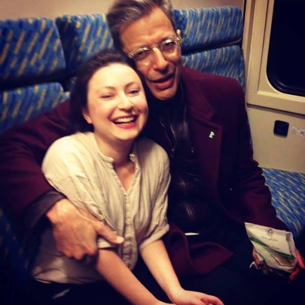 Unexpected Celebrity Encounters (45 pics)
