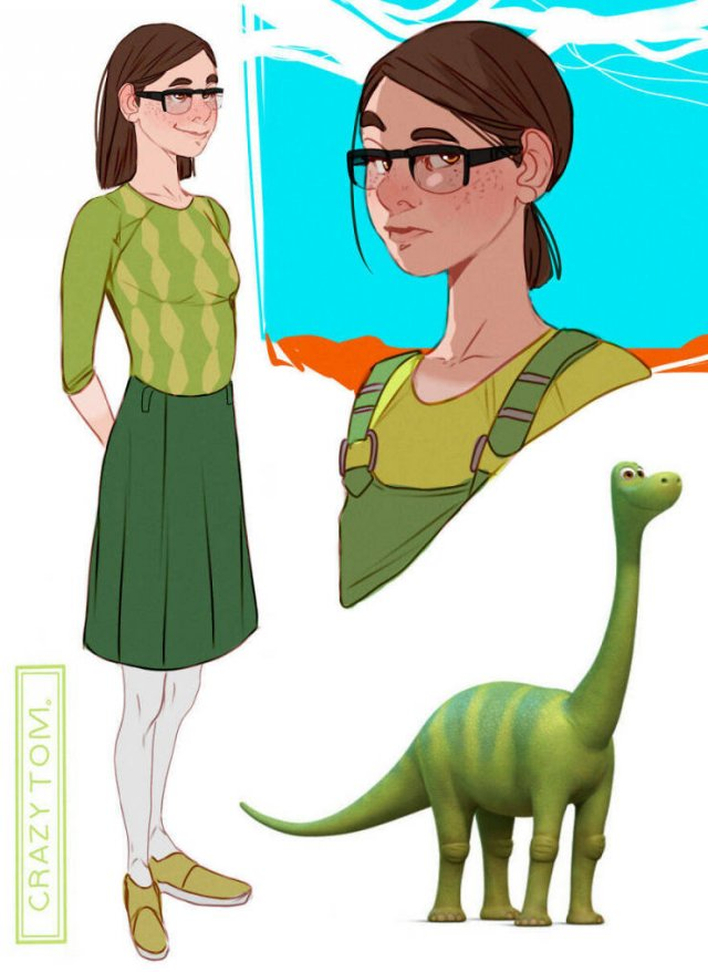 If Cartoon Characters Were People (30 pics)