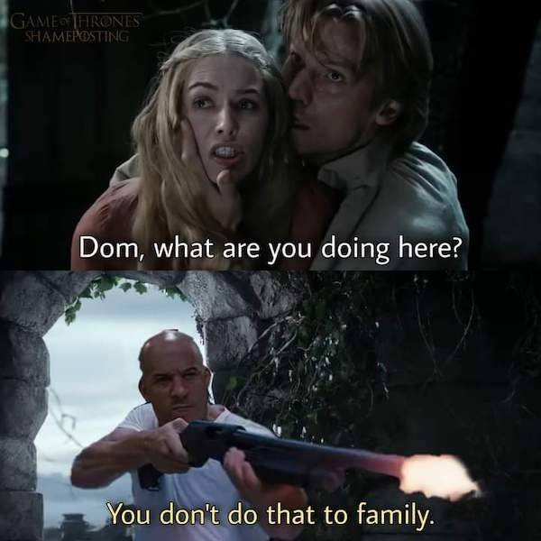 Dominic Toretto And The Power Of Family Memes (36 pics)